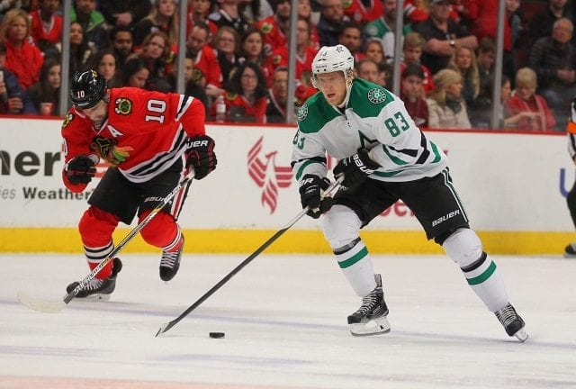 The Dallas Stars interested both Patrick Sharp and Ales Hemsky returning next year, Chicago Blackhawks could be interested in Sharp