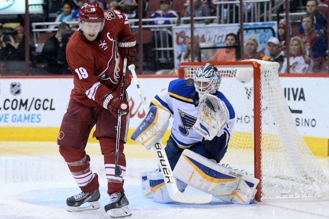 At least two or three teams are interested in Shane Doan