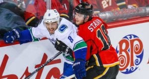 Could the Calgary Flames and Vancouver Canucks make a Chris Tanev trade?