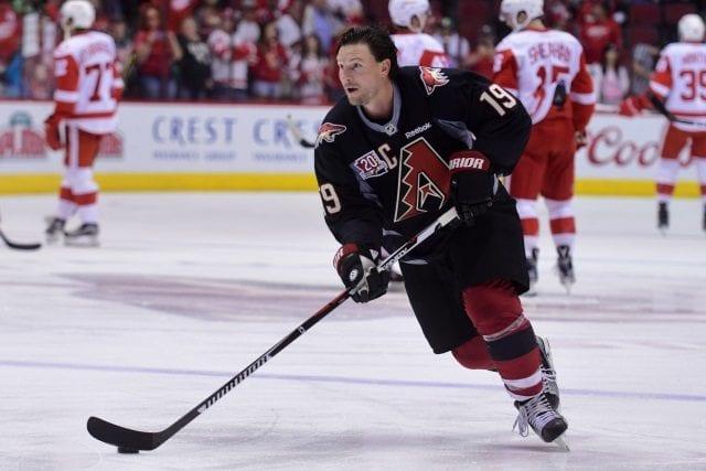 Arizona Coytoes don't plan on bringing Shane Doan back