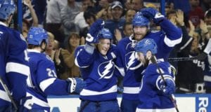 The Tampa Bay Lightning will now turn their attention to Tyler Johnson and Ondrej Palat