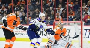 Philadelphia Flyers Michal Neuvirth and Mark Streit