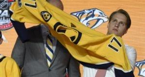 Nashville Predators 2017 first round pick Eeli Tolvanen has an option to come over to NA next season