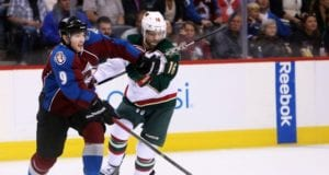 Matt Duchene and Jason Zucker