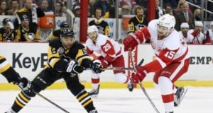The Pittsburgh Penguins are believed to be one of the teams that spoke with the Red Wings about Riley Sheahan