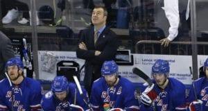 New York Rangers head coach Alain Vigneault on the hot seat