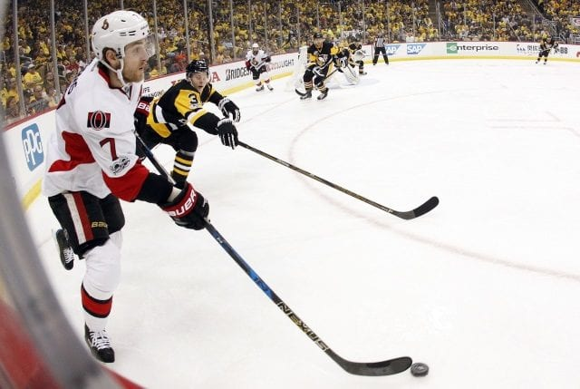 Do the Ottawa Senators look to trade pending free agent Kyle Turris before the NHL trade deadline?