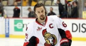 Erik Karlsson is expected to return to the Ottawa Senators lineup this week
