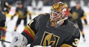 The Vegas Golden Knights placed Calvin Pickard on waivers yesterday