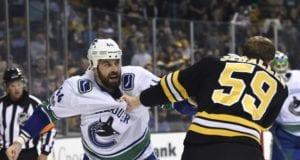 Vancouver Canucks defenseman Erik Gudbranson