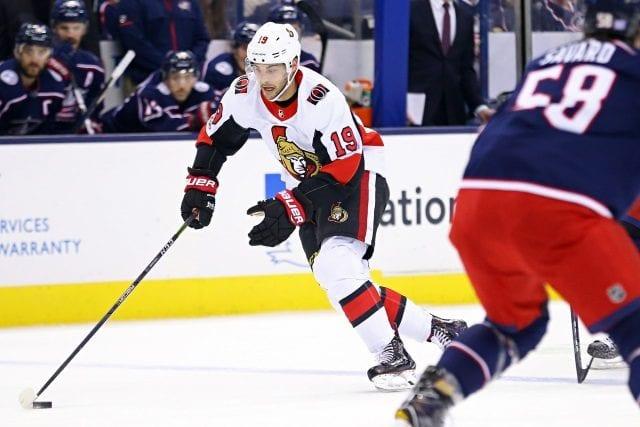 Could the Columbus Blue Jackets be interested in Ottawa Senators Derick Brassard?