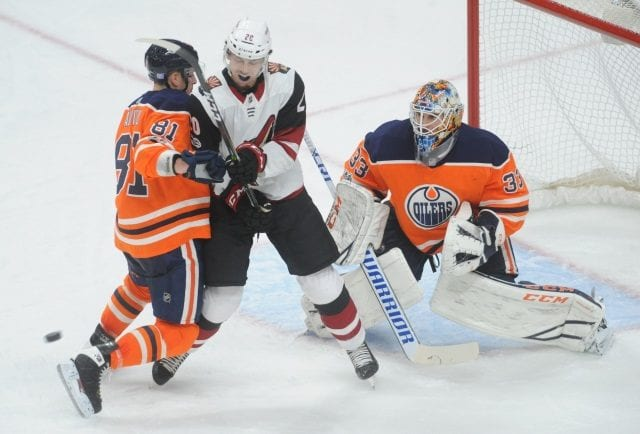 Cam Talbot is hoping to be back in the next week