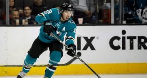Sharks Logan Couture won't play through head injury