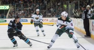 Zach Parise and Logan Couture