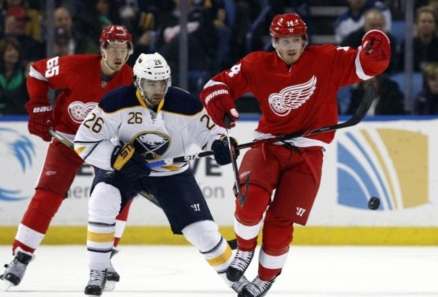 Matt Moulson and Tomas Tatar