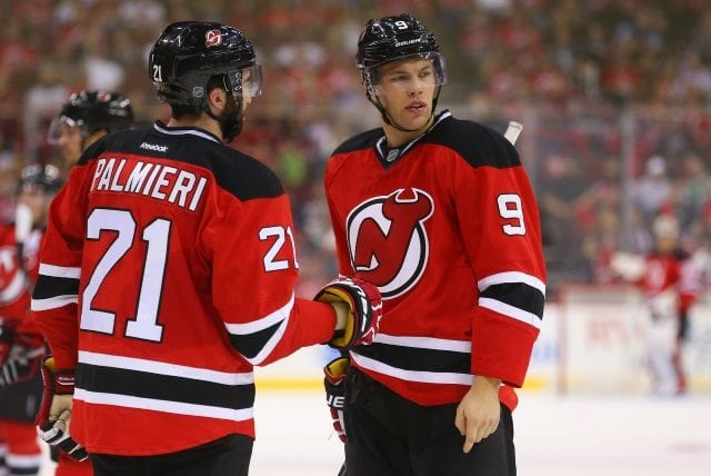 Kyle Palmieri and Taylor Hall