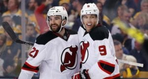 Taylor Hall has a knee contusion ... Kyle Palmieri getting closer to returning