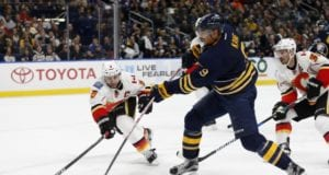 The Calgary Flames could be interested in Evander Kane