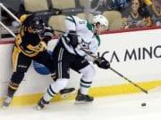 The Dallas Stars trade defenseman Jamie Oleksiak to the Pittsburgh Penguins