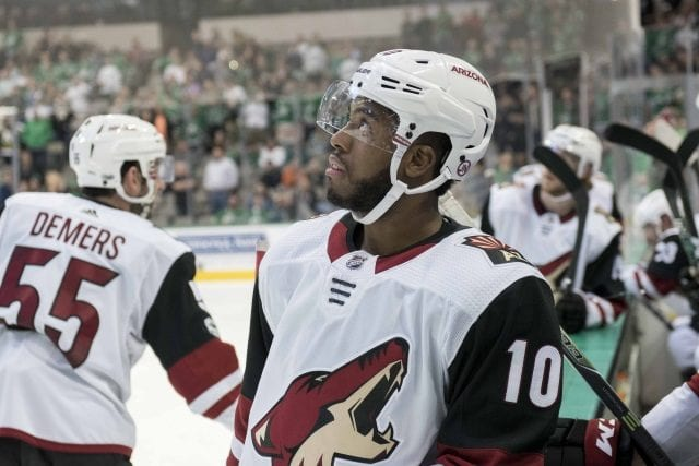 Arizona Coyotes forward Anthony Duclair has requested a trade, and the Coyotes have been trying to trade him.