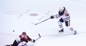 Ryan Nugent-Hopkins is out for five to six weeks with a cracked rib and bruised sternum.