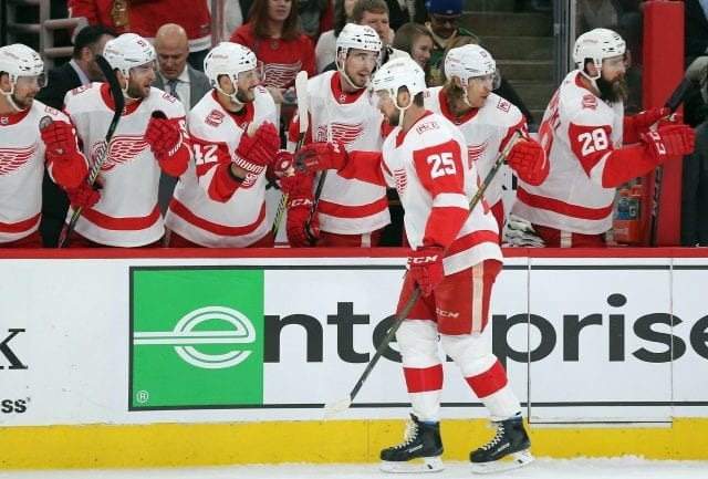 NHL Rumors: Looking at who the Detroit Red Wings could trade at the deadline