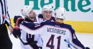 Alexander Wennberg and Brandon Dubinsky