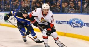 The St. Louis Blues have the assets that might interest the Ottawa Senators for a Mike Hoffman trade.