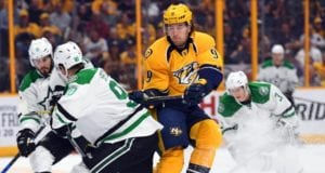 Stars make Jason Spezza a healthy scratch ... Filip Forsberg skated yesterday