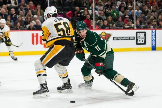 Zach Parise and Kris Letang appear to be ready to return tonight.