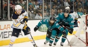 Sharks considering Brent Burns at forward if Tomas Hertl out?