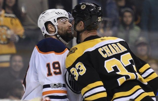 The Boston Bruins have interest in Edmonton Oilers winger Patrick Maroon