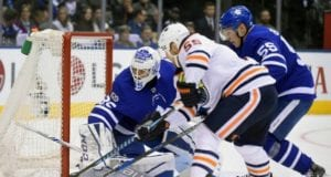 The Toronto Maple Leafs are one of the teams interested in Oilers Mark Letestu