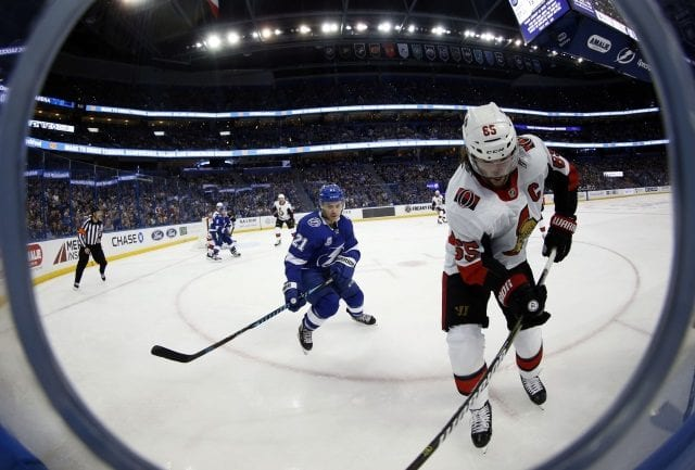 It's unlikely the Ottawa Senators trade Erik Karlsson at the deadline, but the Tampa Bay Lightning could have the assets to land him.