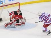 The New York Rangers traded Michael Grabner to the New Jersey Devils.