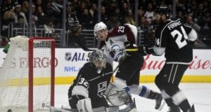 Jonathan Quick activated from the IR. Nathan MacKinnon out two to four weeks.