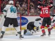 Are the San Jose Sharks interested in Ottawa Senators center Derick Brassard?