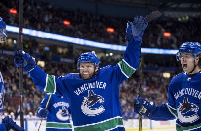 The Vancouver Canucks could trade Thomas Vanek at the deadline and then look to re-sign him. Buying out Loui Eriksson would send a message of a new direction.