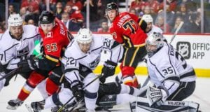 Los Angeles Kings are looking for a top-four defenseman and top-nine forward. Calgary Flames won't be moving draft picks for rentals.
