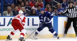 Tyler Johnson's no-trade clause doesn't kick in until the summer.