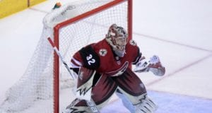 The Arizona Coyotes could look to re-sign goaltender Antti Raanta.