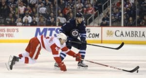 The Toronto Maple Leafs were one of the teams interested in Luke Glendening.