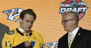 Eeli Tolvanen plans on joining with the Nashville Predators with season is over.