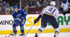 Vancouver Canucks rookie Brock Boeser out for four to six weeks