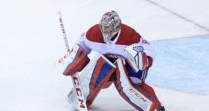 Carey Price will start in net for the Canadiens tonight.