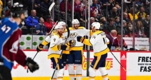 Austin Watson and the Nashville Predators