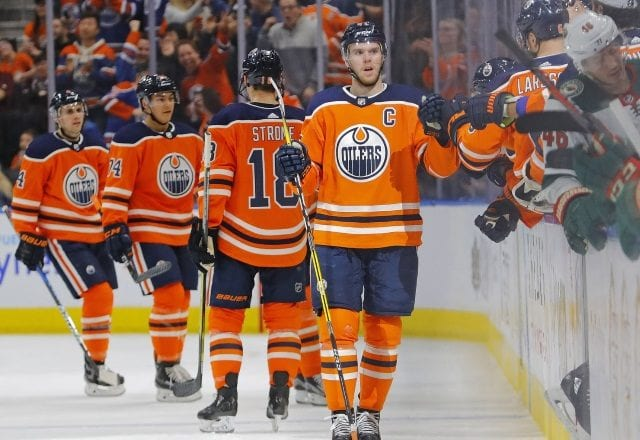 The Edmonton Oilers need to find a winger for Connor McDavid.