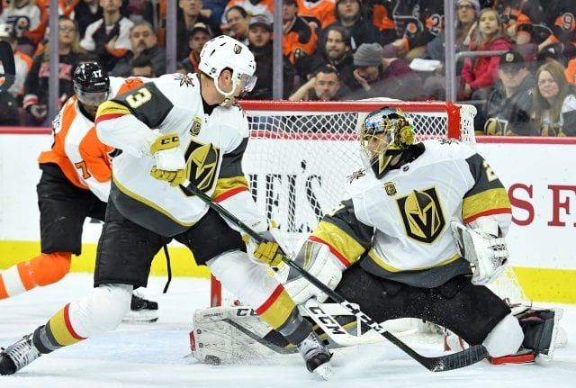 Marc-Andre Fleury becomes the 13th NHL goaltender to win 400 games.