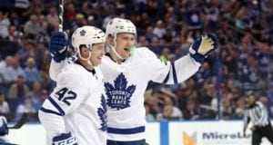 Could James van Riemsdyk and Tyler Bozak sign with the same team this offseason?