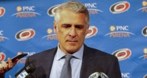 Ron Francis has been removed as the Hurricanes GM, but now their President of Hockey Ops.